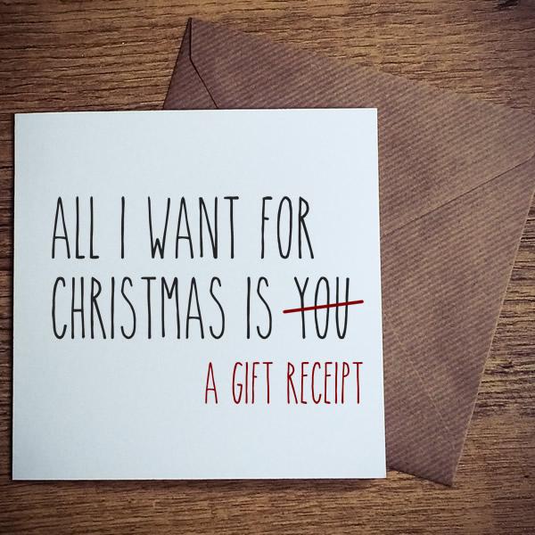 gift receipt