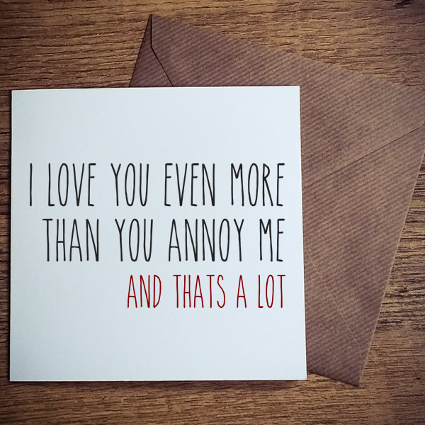 even more than you annoy me